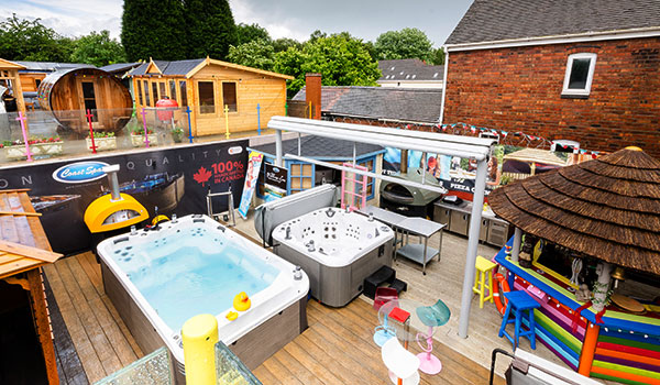 Amazing Products for Hot Tub Retail Franchise
